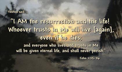 John 11:25-26 by EdenEvergreen