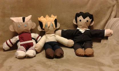 Trigun: Found plushie Trio