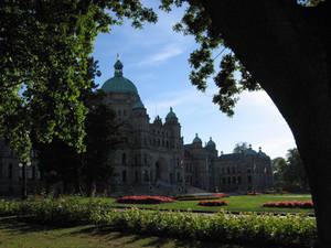 Victoria's Capitol building