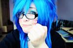 new blue webcam.