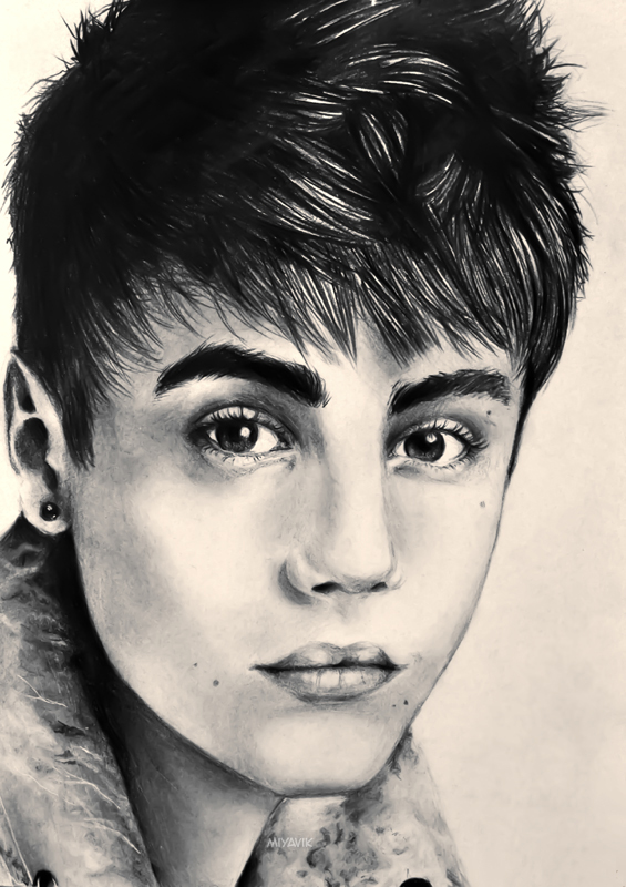 Justin Bieber by miyavik