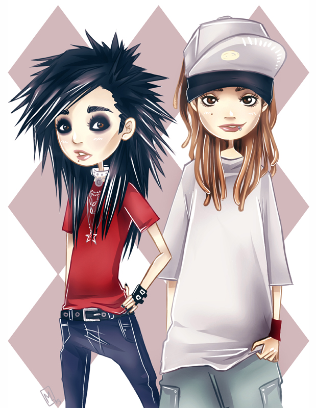 Kaulitz Twins. by miyavik