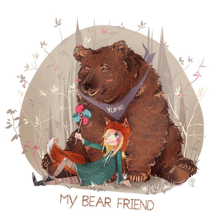 MY BEAR FRIEND by miyavik