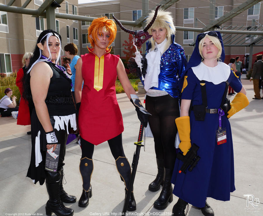 Anime Banzai 2012 :: Group by XuchilbaraPH