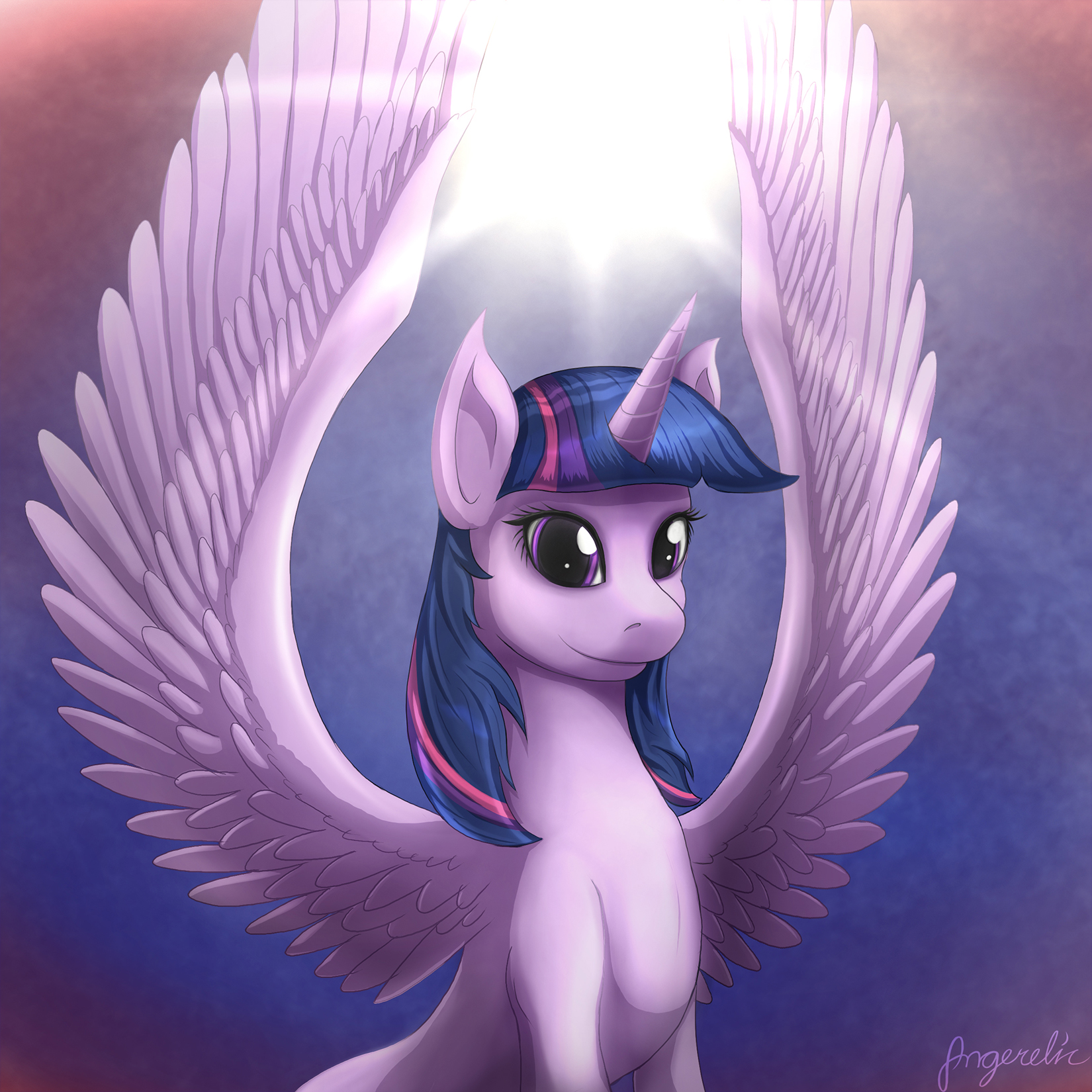 Pretty purple princess by Angerelic