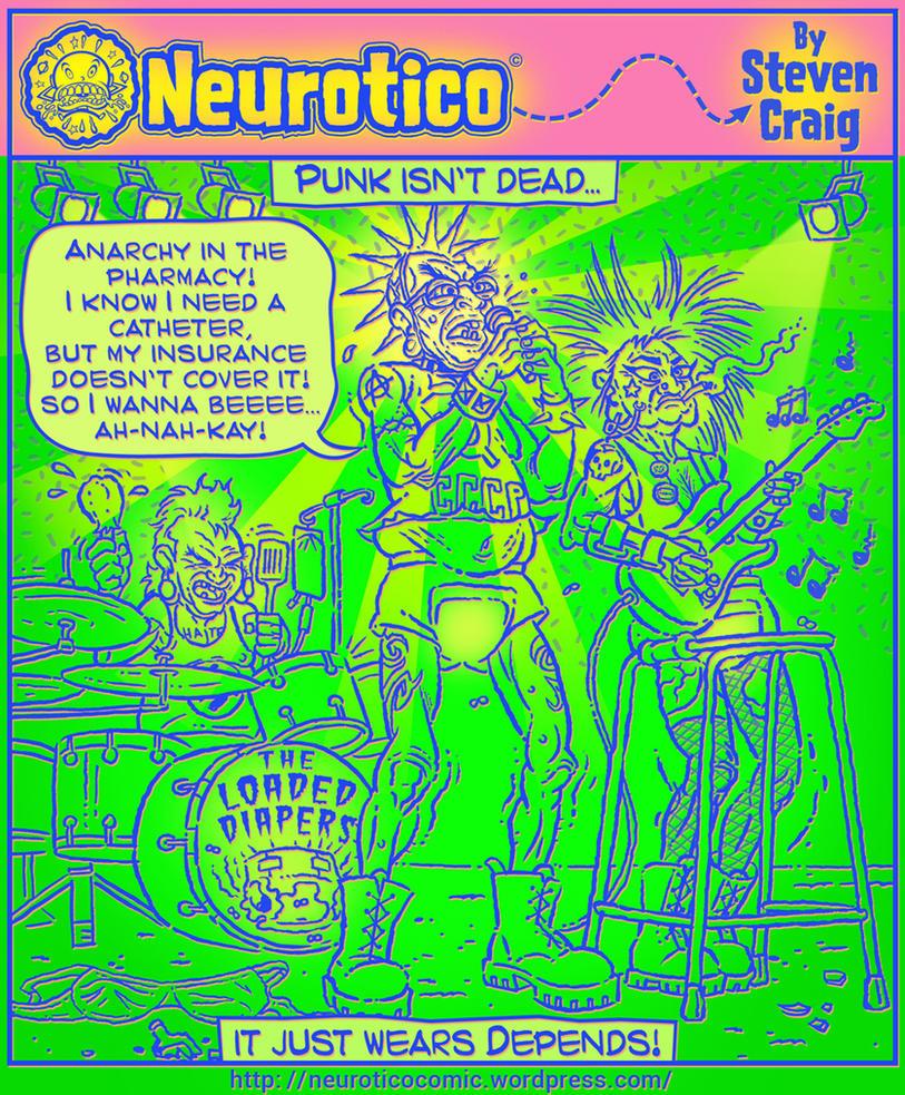 Punks Not Dead! by Stevenartist