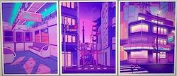 tokyo sunset | f2u divider