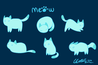 Meow by SilverstormWarrior53
