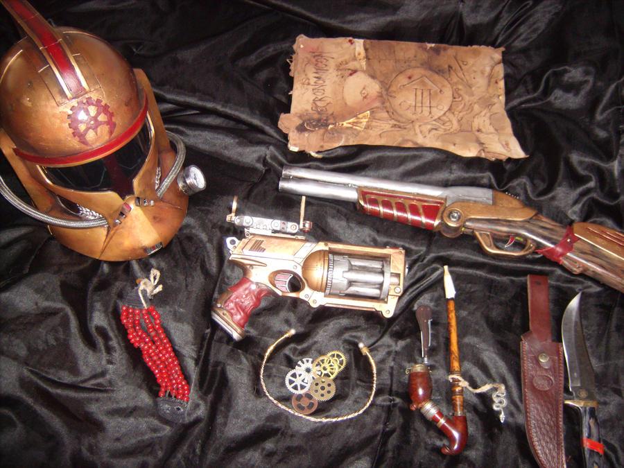 SteamPunk Space Pirate gear 02 by JApgar on DeviantArt