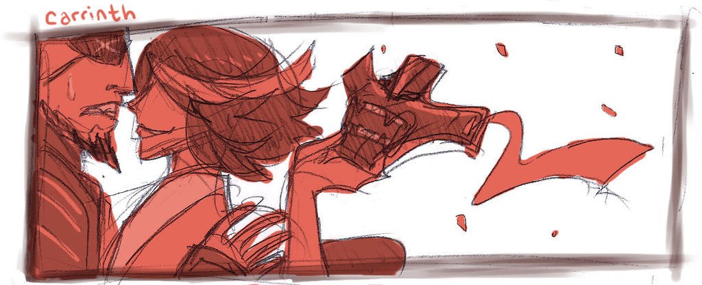 KLK: The master's daughter AU by carrinth