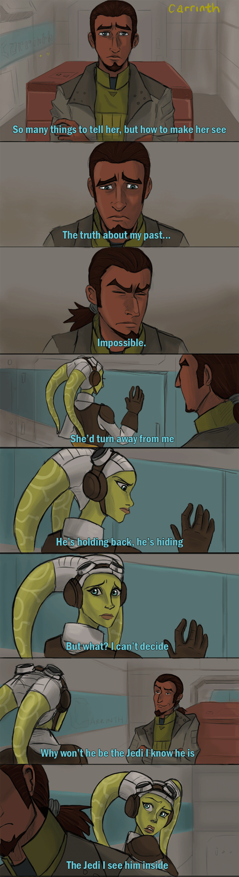 SW Rebels: Can you feel? by carrinth