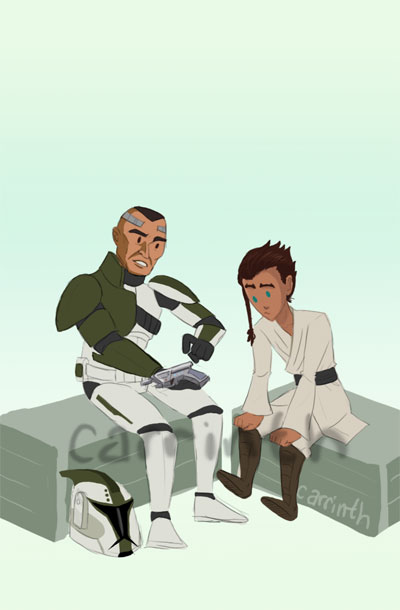 SW Rebels: Blaster Training by carrinth