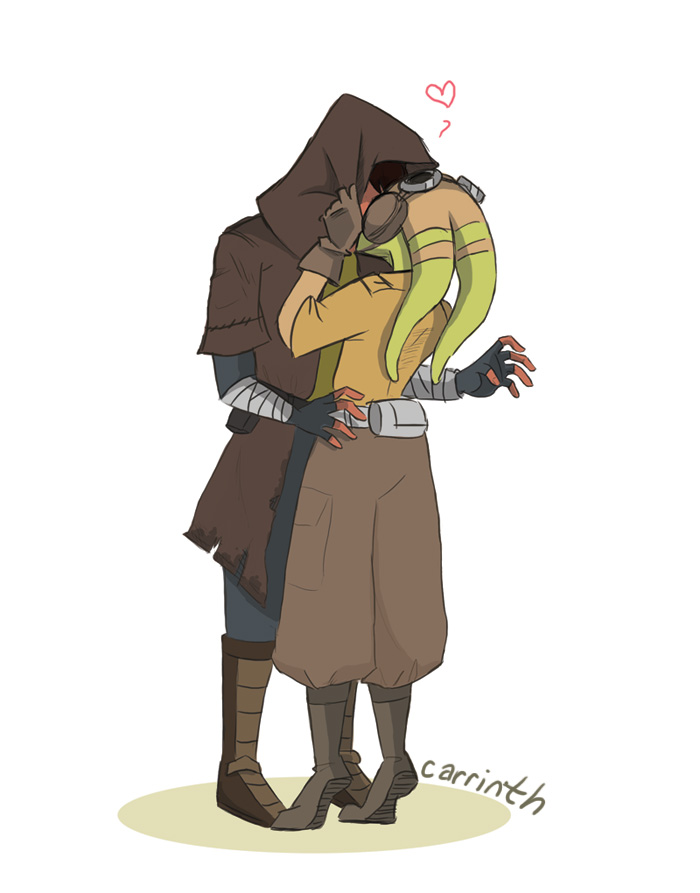 SW Rebels: Smuggled Kisses by carrinth