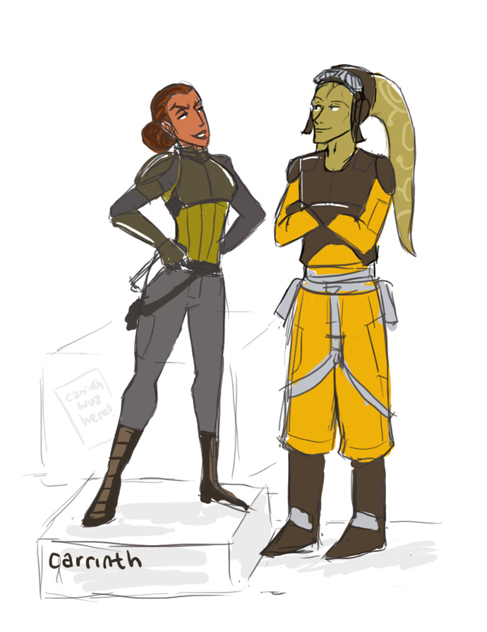 SWRebels GB: Feeling Tall by carrinth