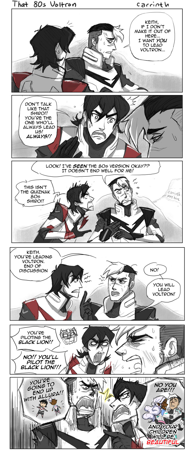 Voltron: That 80s Voltron by carrinth