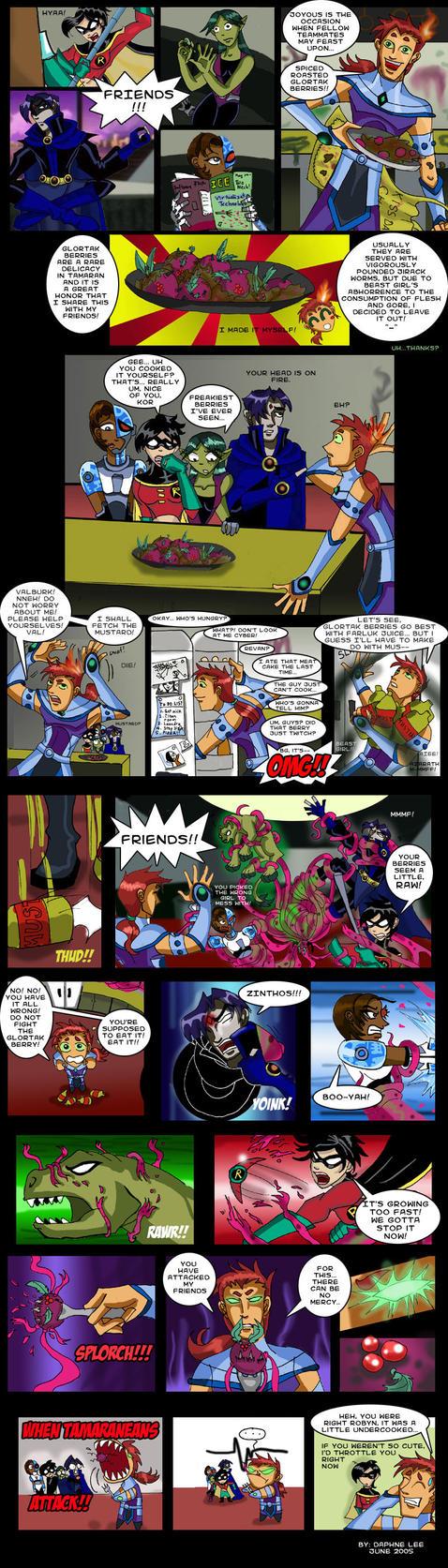 TT Gender Bender Comic by carrinth
