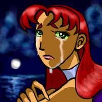 TT Sad Starfire by carrinth
