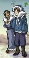 Avatar: Zuko + Water Tribe