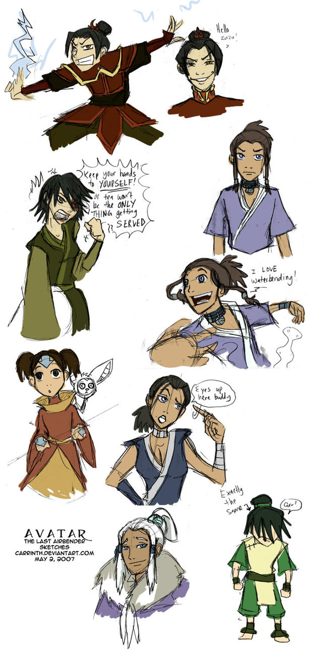 Avatar Gender Bender by carrinth