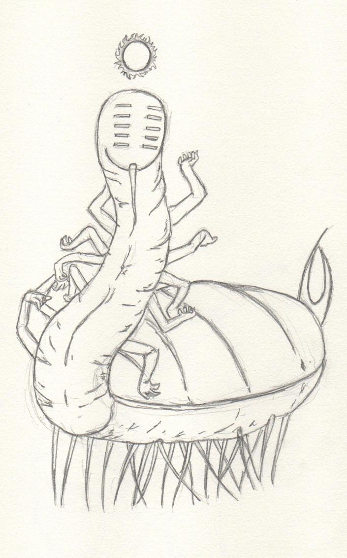 pencil sketch 2 by WonQu