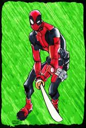 Deadpool Wade Wilson by BenComics