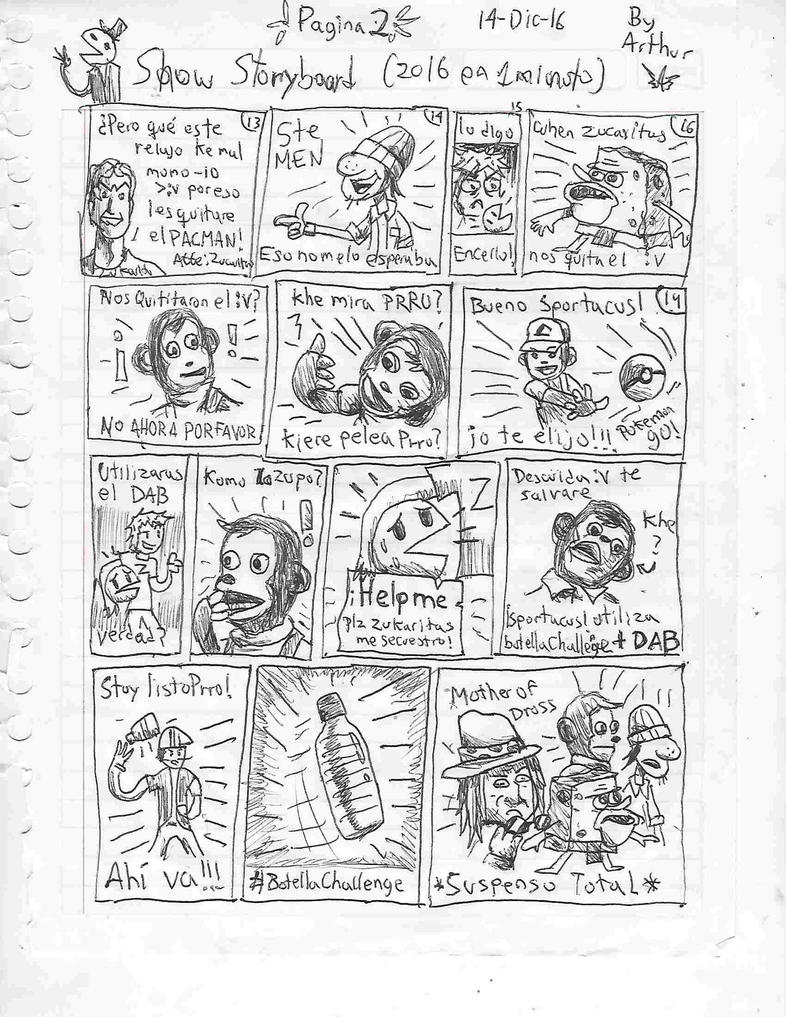 2016rewind(storyboard)pag1 by Arthurcomiks