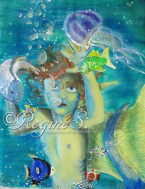 Kleiner Wassermann by ReginesArtwork