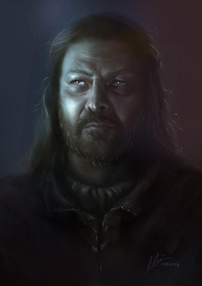 Eddard Stark by elleneth