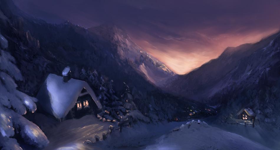 Snowy by elleneth