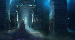 corridor by elleneth