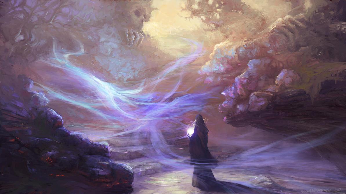 Magic Light by elleneth