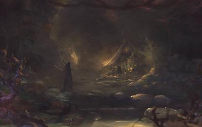 Undergound cave