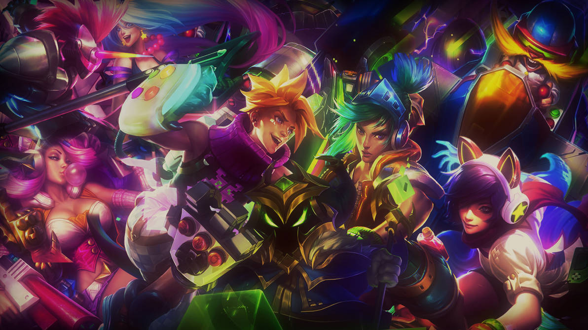 Free Arcade Desktop Wallpaper By Lol Overlay On Deviantart