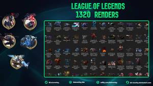 [FREE] 1320 League Of Legends Renders