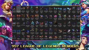 [FREE] 956 League Of Legends Renders [2019 Update]
