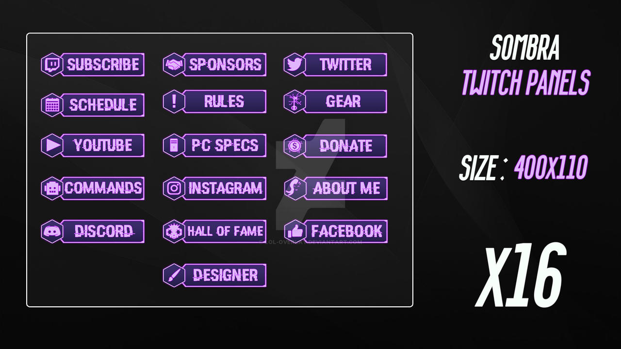 Twitch Panel Schedule – Wonderful Image Gallery