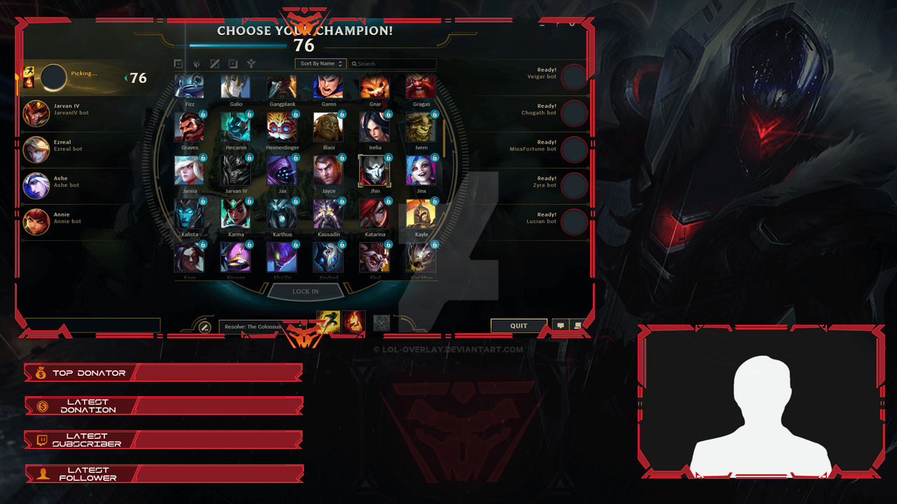 PROJECT Jhin - Client Overlay