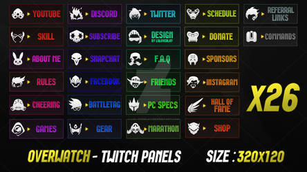 Overwatch - Twitch Panels