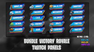 [BUNDLE] Victory Roayle - Twitch Panels