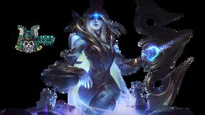 Cosmic Queen Ashe - Render by lol0verlay