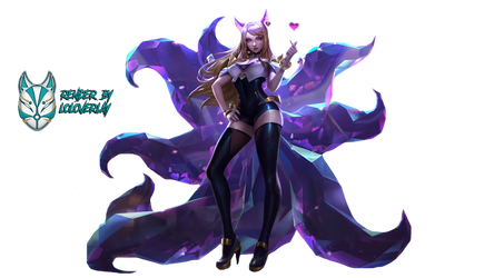 K/DA Ahri - Render by lol0verlay
