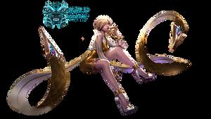 K/DA Evelynn Prestige Edition - Render #2