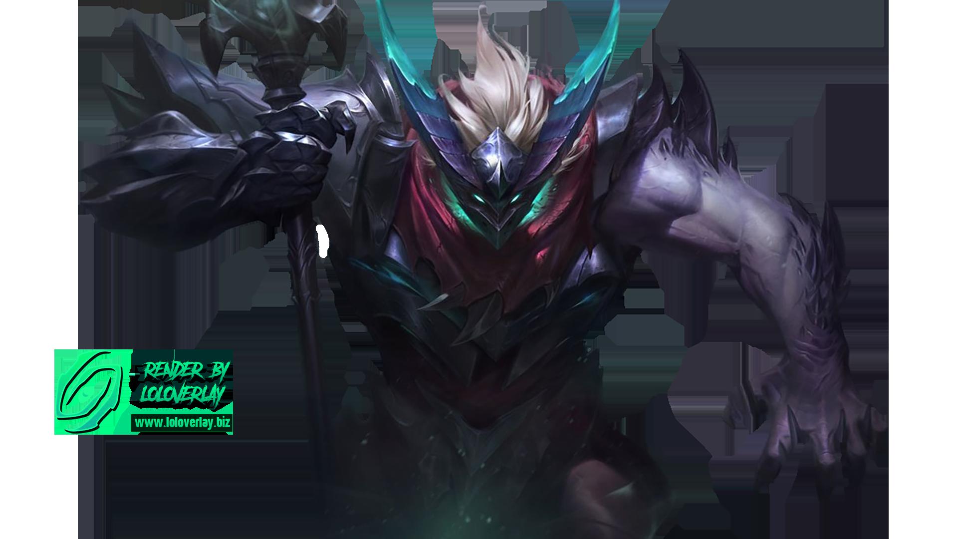 Dragon Knight Mordekaiser Render By Lol Overlay On Deviantart