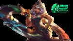 Qiyana, Empress of the Elements - Render