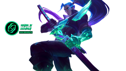 Battle Boss Yasuo - Render by LoL-Overlay
