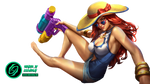Pool Party Miss fortune - Render
