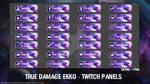 True Damage Ekko - Twitch Panels