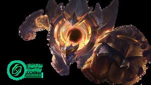 Dark Star Malphite Prestige Edition - Render