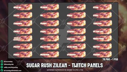 Sugar Rush Zilean - Twitch Panels