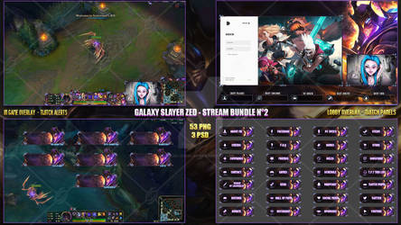 Galaxy Slayer Zed - Stream Bundle #2